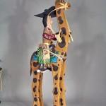 Delbert Buck - Giraffe Rider
