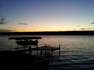 Seneca Lake Sunset